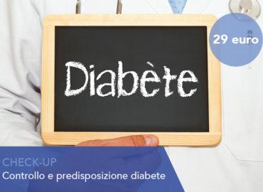 Check Up controllo e predisposizione diabete