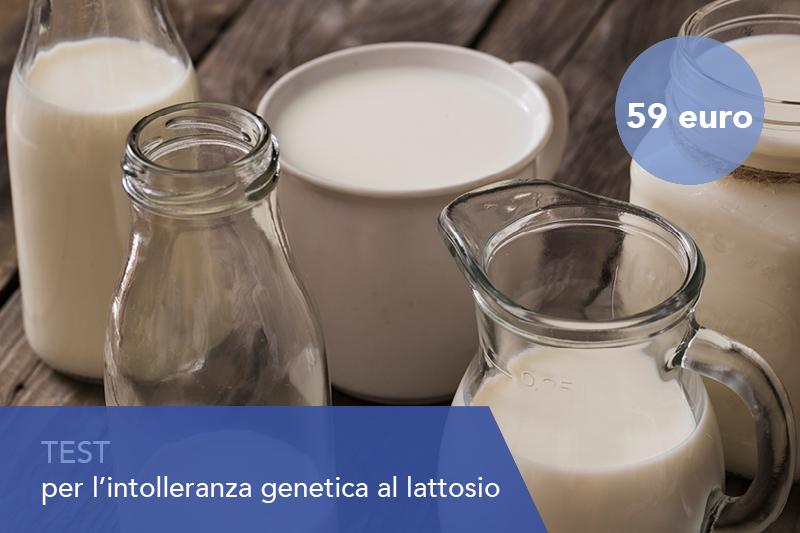 Test genetico per l'intolleranza al lattosio