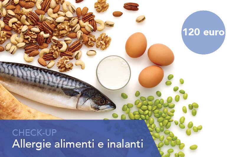 Check up allergie alimenti e inalanti