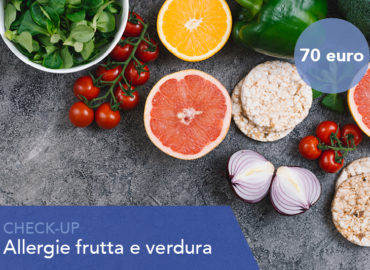 Check up allergie frutta e verdura