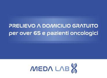 Emergenza Coronavirus: prelievi a domicilio gratuiti per over 65 e pazienti oncologici