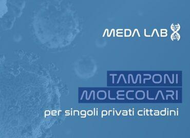 Tamponi molecolari per singoli privati cittadini