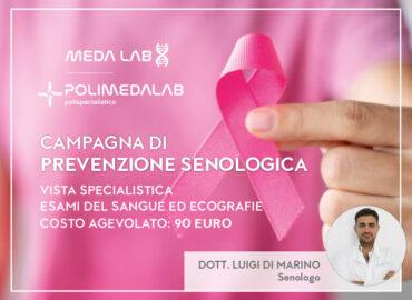 Campagna di prevenzione senologica con il dottor Luigi Di Marino